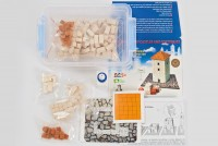 Plaster Building Set - English House Design