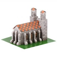 Plaster Building Set - German Church