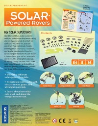 STEM Solar Powered Rovers