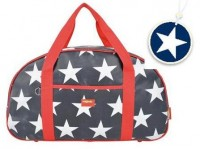 Overnight Bag - navy star + BONUS bag tag