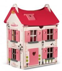 Janod Maison French Doll House At Marshmallow Monkey