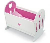 e1b8edd0f6199 Janod - Wooden Dolls Cradle at Marshmallow Monkey